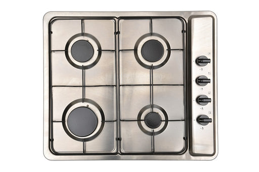 Montpellier MGB60X Gas Hob in Stainless Steel