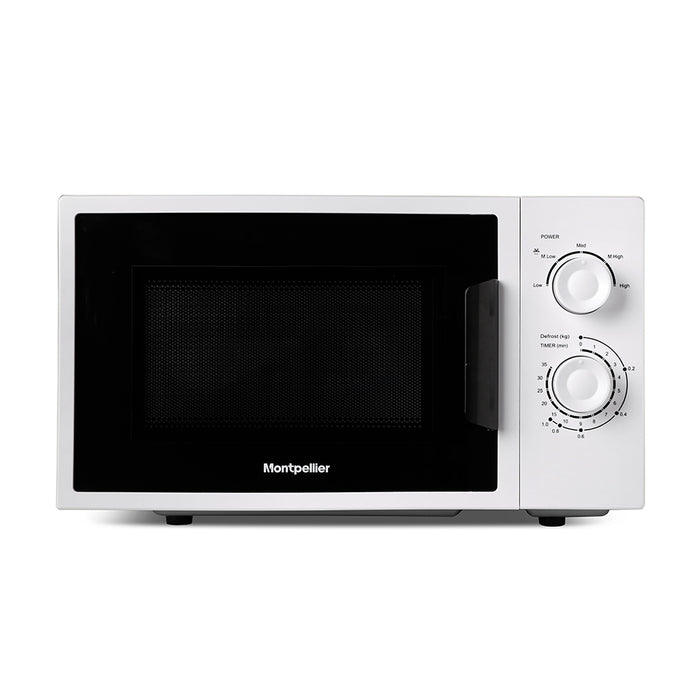 Montpellier MMW21W 20ltrs 700w Solo Microwave in White