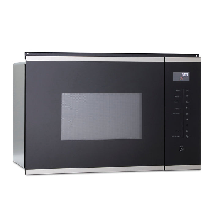 Montpellier MWBI73B Integrated Microwave & Grill in Black