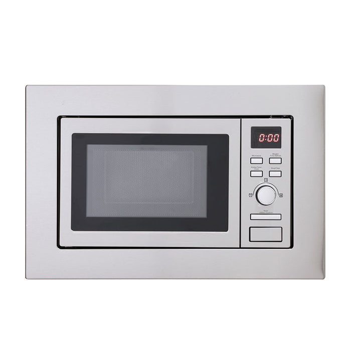 Montpellier MWBI17-300 17ltr Integrated Slim Depth Solo Microwave