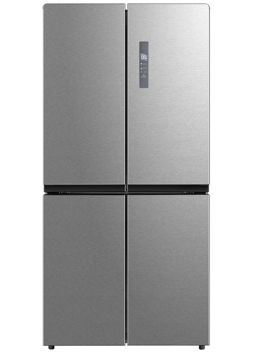 Montpellier MXD83X American Style 4 Door Fridge Freezer in Stainless Steel