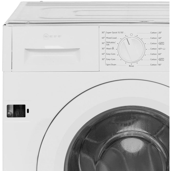 Neff W543BX0GB Integrated 8kg 1400 Spin A+++ Washing Machine