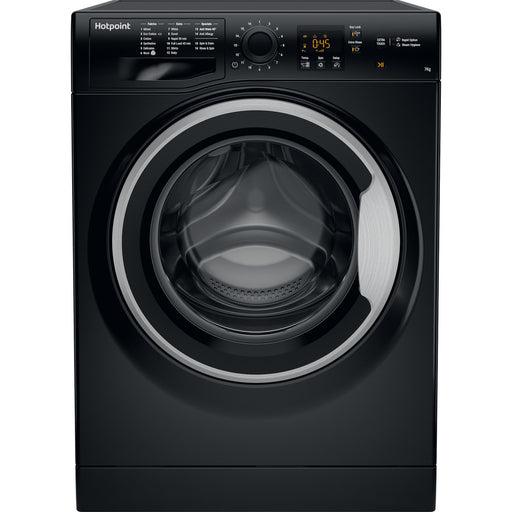 Hotpoint NSWF743UBS 7kg 1400rpm A+++ Washing Machine in Black