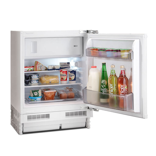 Montpellier MBUR200 Integrated Undercounter A+ Icebox Fridge Including 5 Year Warranty