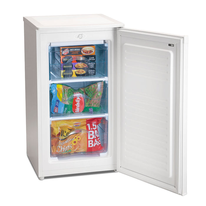 Iceking RZ109W 48cm A+ Undercounter Freezer in White