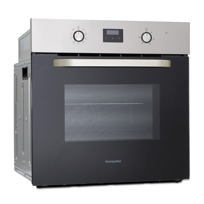 Montpellier SFO58X Single Built-in Oven in Stainless Steel