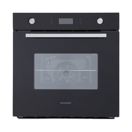 Montpellier SFO74B Single Built-in Electric Oven in Black