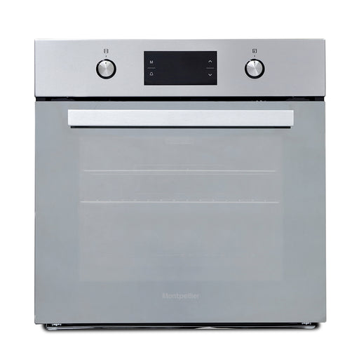 Montpellier SFOM69MX Single Built-in Oven in Mirrored Glass