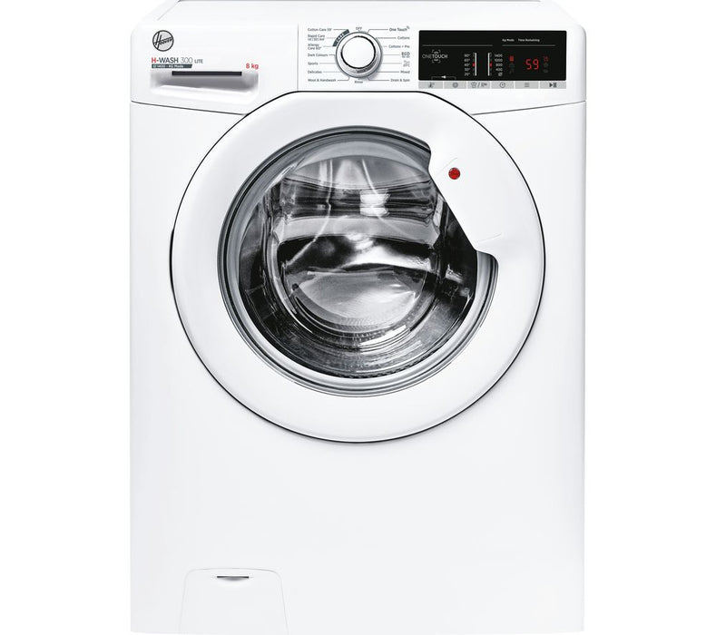 Hoover H3W48TE 8kg 1400rpm A+++ Washing Machine in White