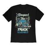 Respect The Truck (Unisex) Heavy Cotton  T-Shirt