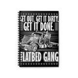 Flatbed Gang Spiral Notebook