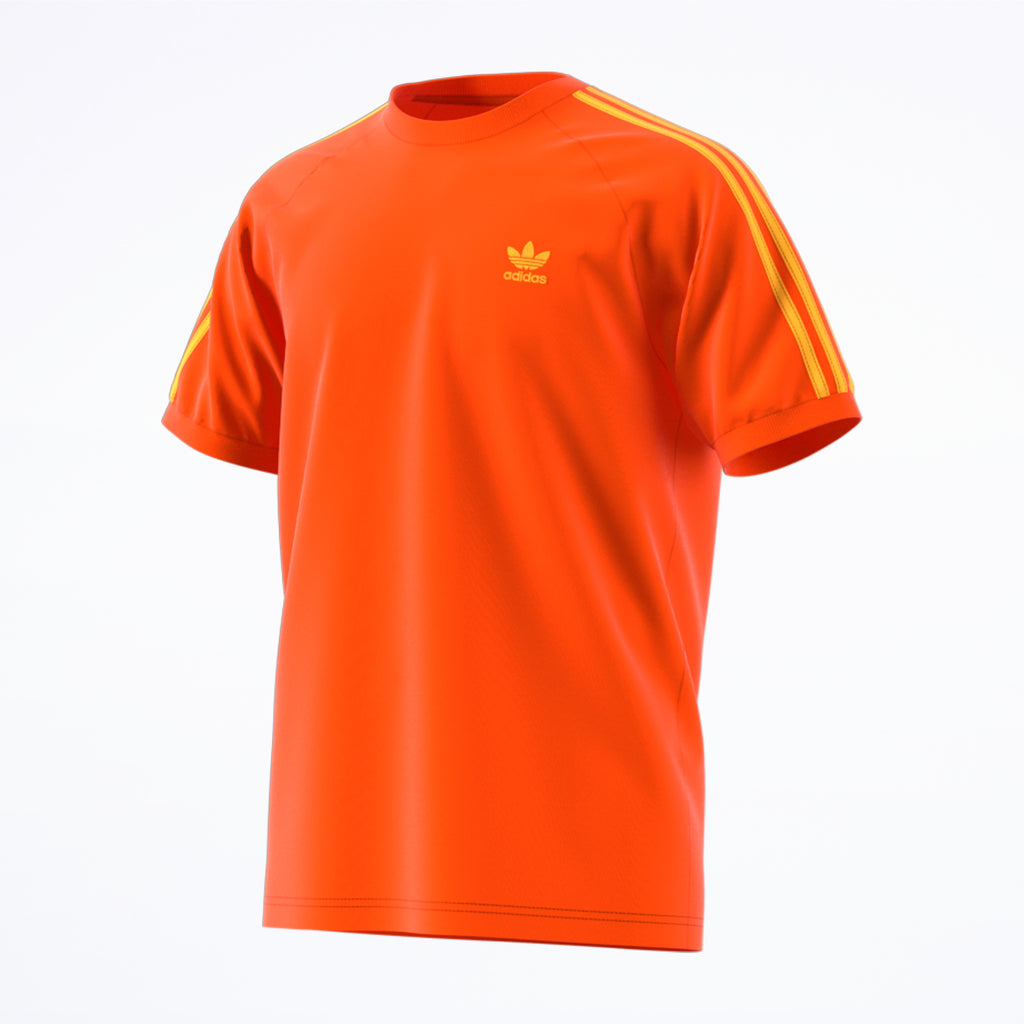 adidas 3-Stripes Tee orange
