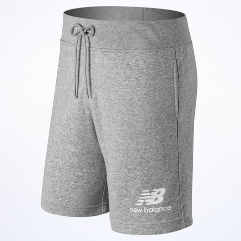 New Balance Essential Stacked Logo Short grey