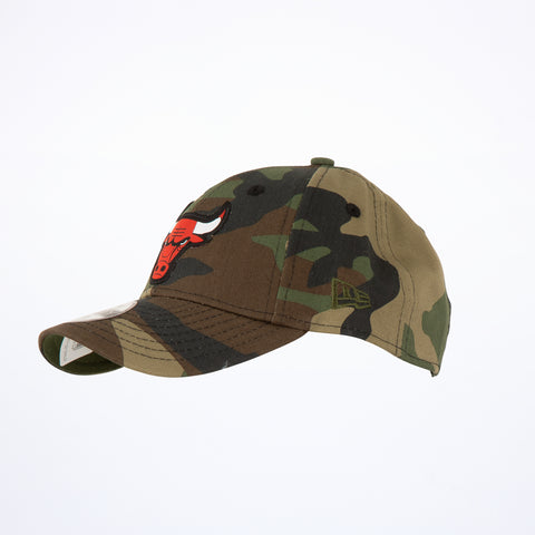 New Era Kids Chicago Bulls Camo 9Forty Adjustable