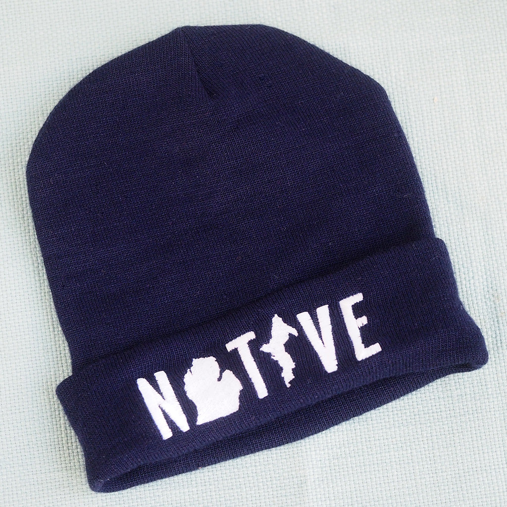 Native Michigan Beanie/Hat