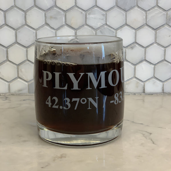 BoHo Plymouth Glass Mug