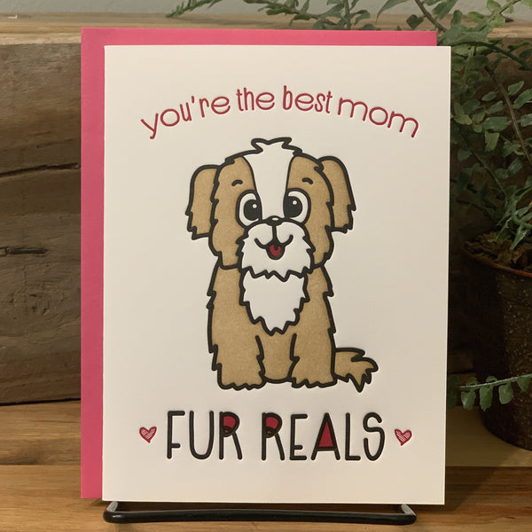 Mother's Day Card - Fur Reals