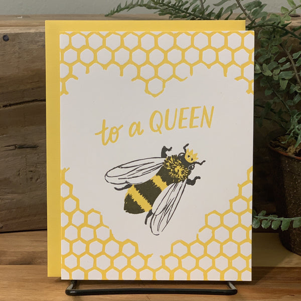 Mother's Day Card - Queen Bee