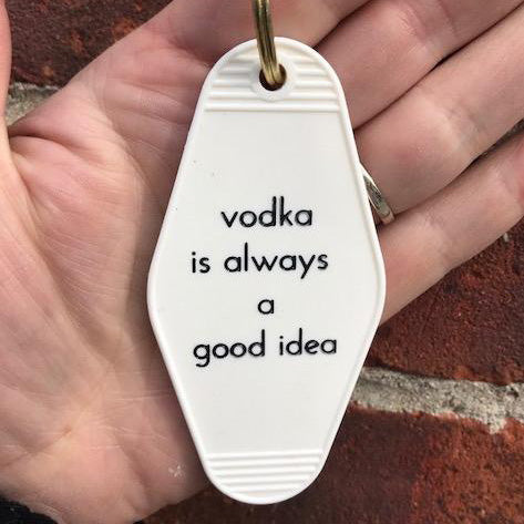 Retro Keychain - Vodka