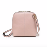 Classic Clam Crossbody - Blush