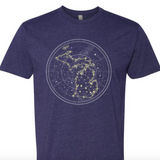 Michigan Constellation Tee - Glow in the Dark