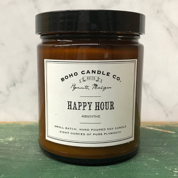 BoHo Candle Company - Happy Hour