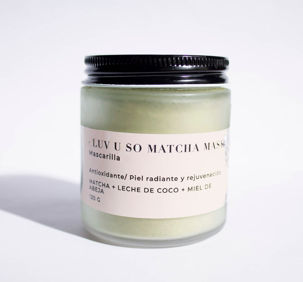MASCARILLA / EXFOLIANTE Luv u so Matcha