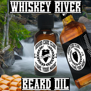 Whiskey River Beard Oil - 1oz Bottle