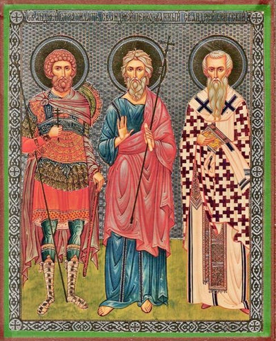 Andrew Stratelates, Apostle Andrew, and Andrew of Crete