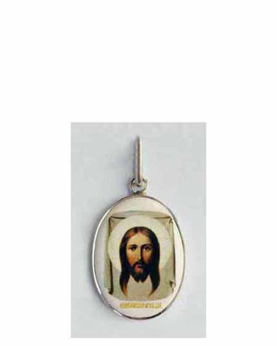 B500Sm Porcelain Christ Icon Pendant