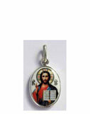 B513Sm Porcelain Christ Icon Pendant