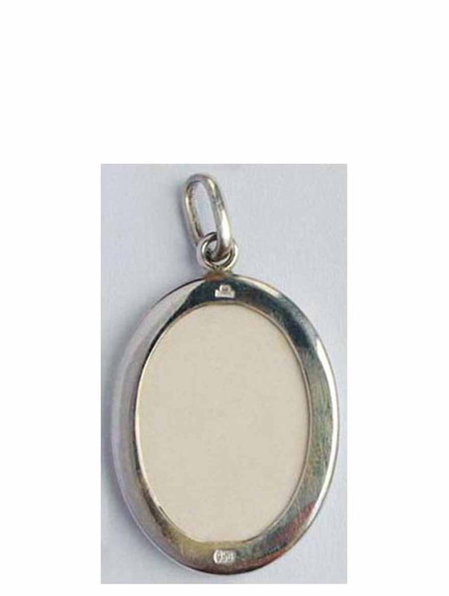 B513Lg Porcelain Christ Icon Pendant
