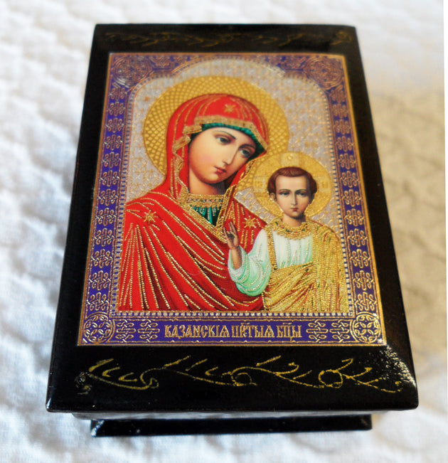 Box Small Kazan Mother of God