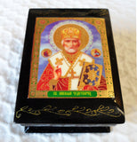 Box Small St Nicholas mitre soft
