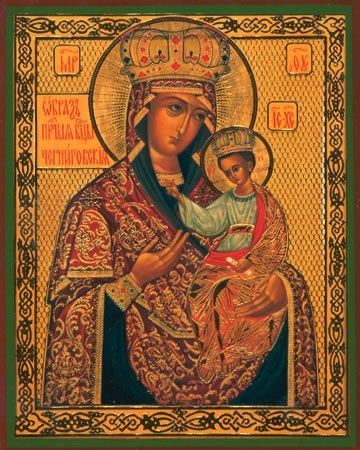 Chernigovskaya Mother of God