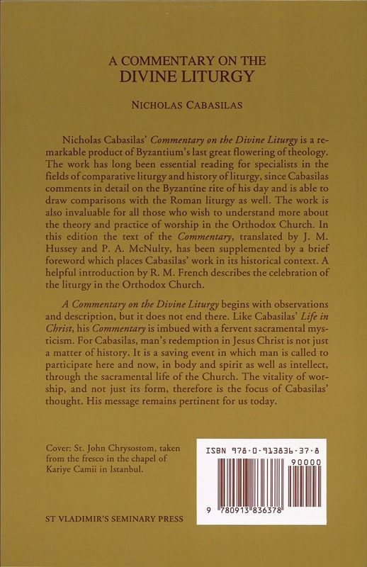 Commentary Divine Liturgy