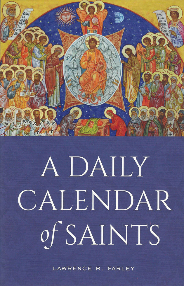 Daily Calendar of Saints