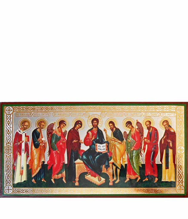 Deesis Christ with Saints