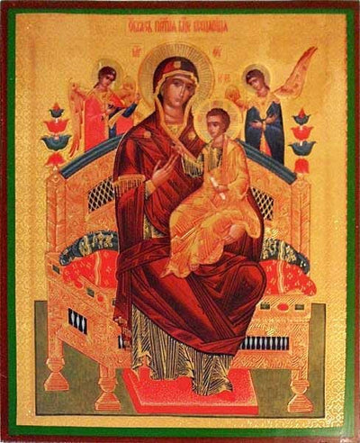 Enthroned Mother of God Russian