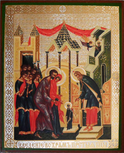 Entry of the Theotokos into the Temple