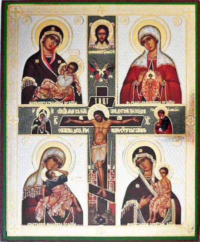 Four Icons Mother of God new