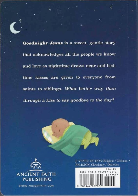 Goodnight Jesus boardbook
