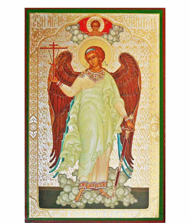 Guardian Angel with Christ
