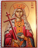 Helen Saint Greek Icon 6x8