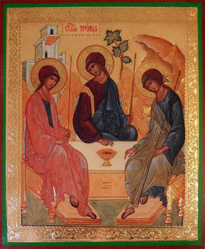 Holy Trinity by Rublev