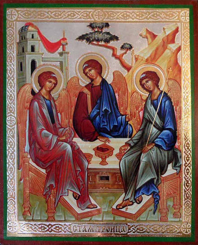 Holy Trinity by Rublev new