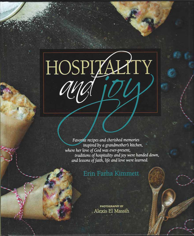 Hospitality and Joy cookbook