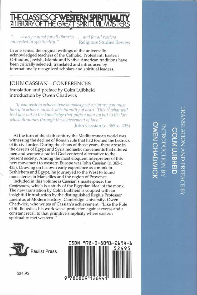 John Cassian Conferences softcover