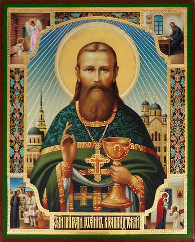 John of Kronstadt Saint icon