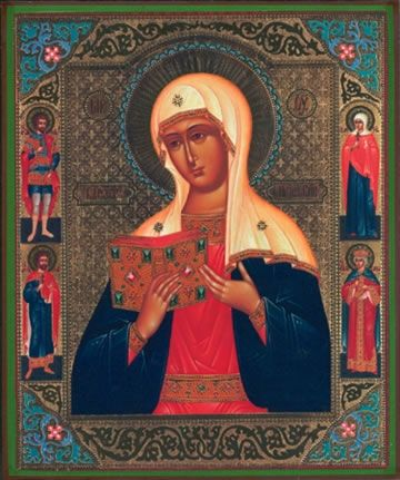 Kaluga Mother of God with Saints